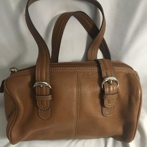Tignanello brown leather purse